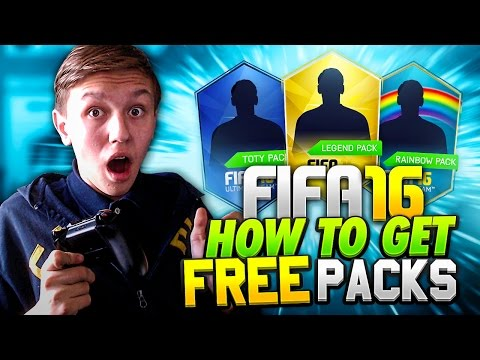 HOW TO GET FREE PACKS ON FIFA 16!!! - (FIFA 16 Ultimate Team)