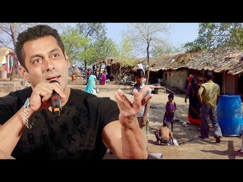 Salman Khan's NGO Helps Drought Affected Villages - Provides Water