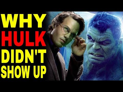 Heres Why Hulk Didnt Show Up In Avengers Infinity War