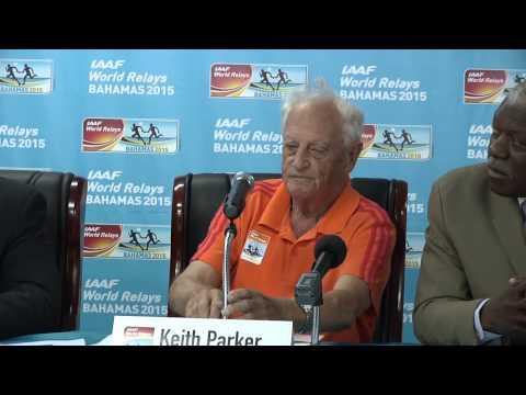 10YS - IAAF World Relays 2015 Press Conference - Feb 4
