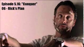 The Walking Dead - Season 5 Ost - 5.16 - 06: Rick's Plan