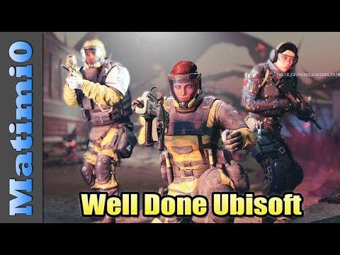 Well Done Ubisoft - Rainbow Six Siege Outbreak