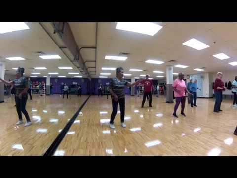 Zydeco bounce line dance demo youtube.