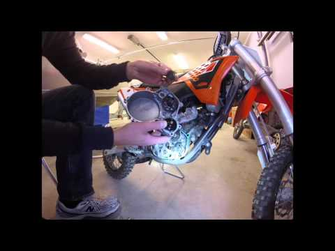 SOLVED I Put Oil In My Ktm 50 Clutch Casing And It Fixya
