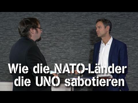 Wie die NATO-Länder die UNO sabotieren - Dr. Daniele Ganser im NuoViso Talk