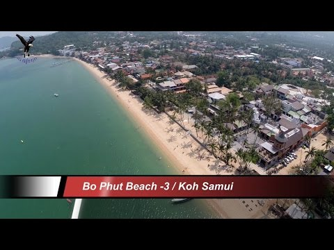 Bo Phut Beach-3 / Koh Samui Thailand overflown with my drone
