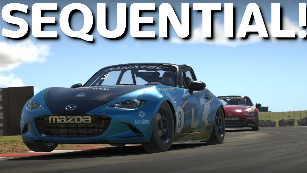 iRacing Mazda MX-5 Big Update Sequntial Gearbox And More
