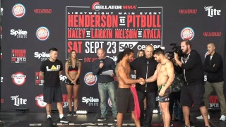 Bellator 183: Henderson vs. Pitbull LIVE Weigh Ins