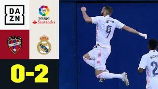 Karim Benzema mit 250. Tor für die Königlichen: Levante - Real Madrid 0:2 | LaLiga | DAZN Highlights