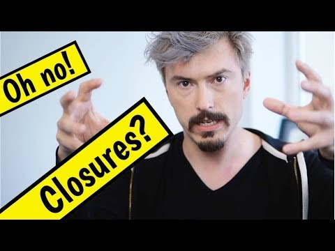 Closure exposure therapy - Exploring closures in JavaScript with friendly live mob programming thumbnail