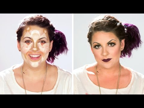 Women Are Transformed Through Makeup Contouring