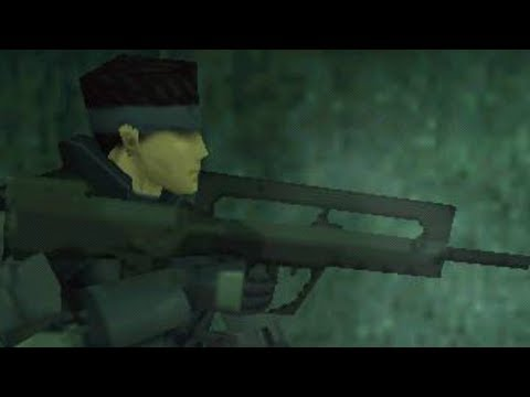 MGS1 - Every Weapon And Item