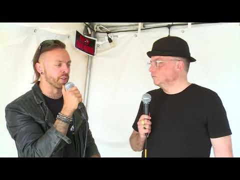 Matt Tuck of Bullet For My Valentine Interview at Rock On The Range 2018
