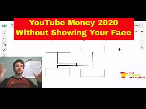 How To Make Money On YouTube 2020 - Without Showing Your Face (Without Covering You With Your Hands)