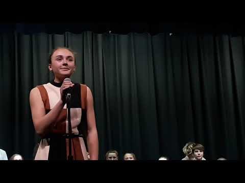 Webster Stanley Middle School spring concert - choir