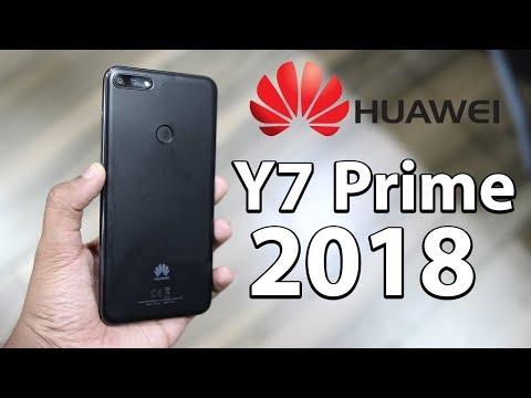 Huawei Y7 Prime 2018 Hands On