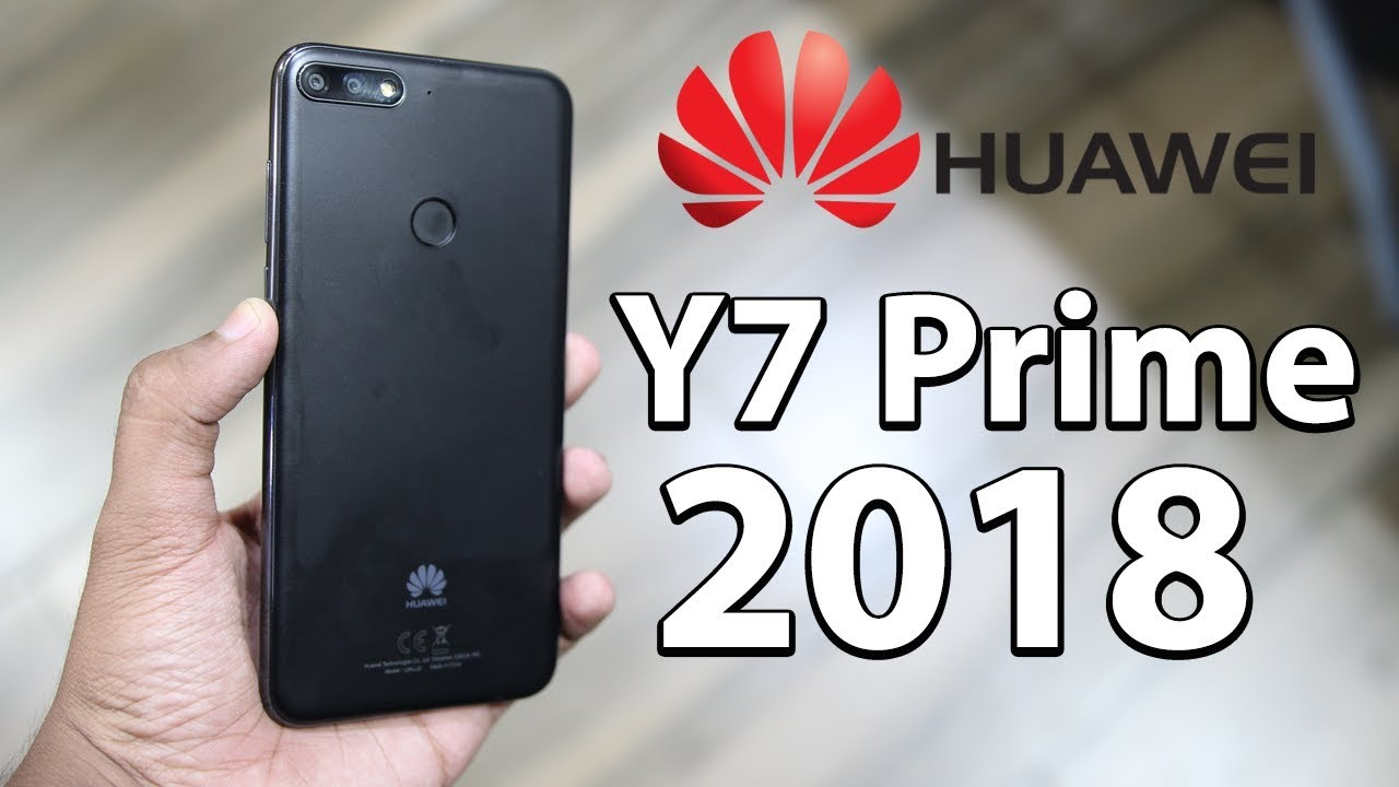 Huawei Y7 Prime 2018 Hands On Youtube