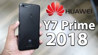 Huawei Y7 Prime 2018 Hands On