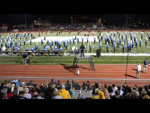 Marching Lancers - 2015 Metro East Marching Classic