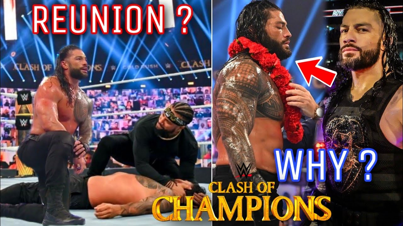 The Usos Joining Roman Reigns ? Why Roman Reigns Changed His Look ? WWE Clash Of Champions 2020 !