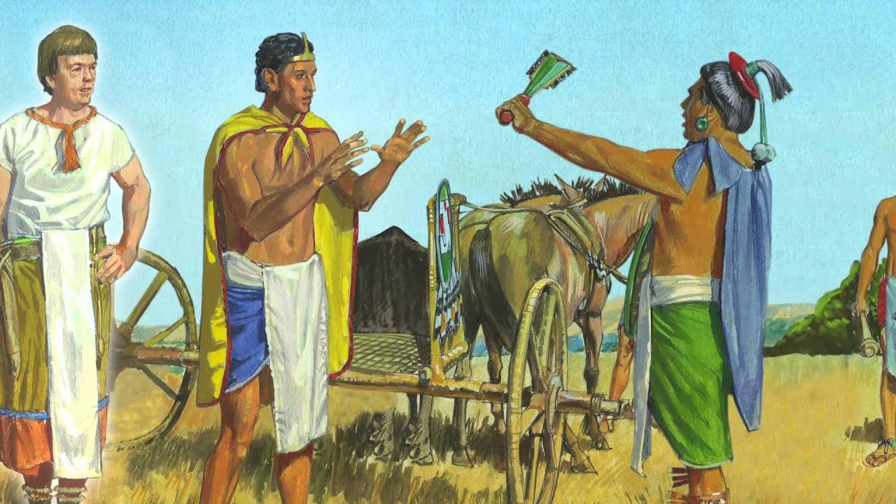 Captulo 24 Amon Encontra Se Com O Pai Do Rei Lamni