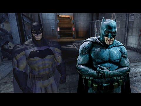 Batman Arkham Asylum: Batman v Superman Suit Mod
