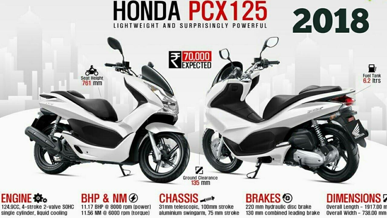 Honda Pcx125 2018 Youtube