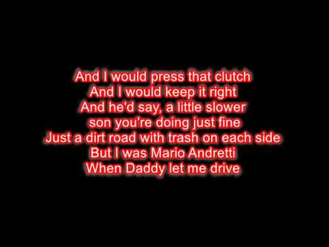 Alan Jackson- Drive LYRICS