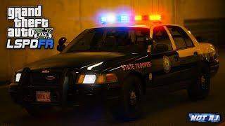 GTA 5 LSPDFR - Day 128 | Florida Highway Patrol #3 | LSPDFR Highway Pursuit After a Motorcycle!