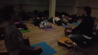 Beautiful Mantra Music and Yin Yoga at Soulful Fitness Lane Cove