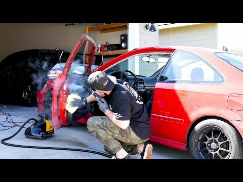 Giving my Honda Civic the ULTIMATE Interior Detail | Start to Finish