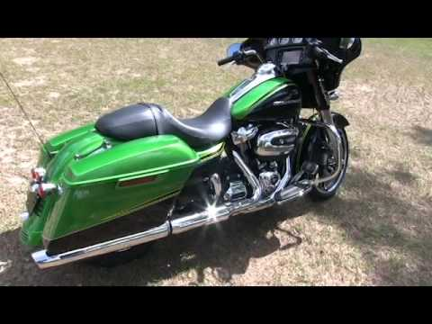Harley Street Glide Paint Colors