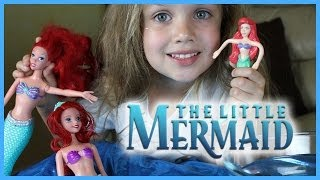 Ariel The Little Mermaid - Color changing Disney Princess Review by Toys & Eva