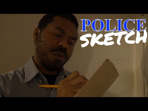Police Sketch Artist Roleplay ASMR | Pencil Drawing and Soft Spoken Words | Forensic Artist