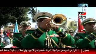 أول يوم دراسة.. جامعات مصر تستقبل العام الجديد بنشيد وطنى وموسيقى عسكرية.