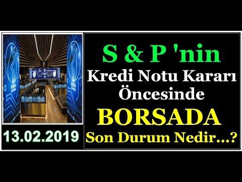 #BORSADA, S&P NOT KARARI ÖNCESİ SON DURUM NEDİR...?