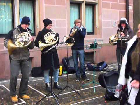 waldhorn quartett live in freiburg