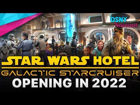 STAR WARS HOTEL Opening In 2022 at Walt Disney World - Disney News - May 4, 2021