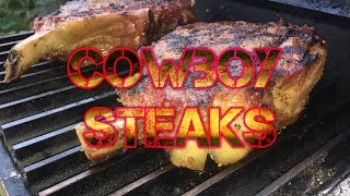 How To Cook  Cowboy Steaks - Cut From Prime Rib Angus