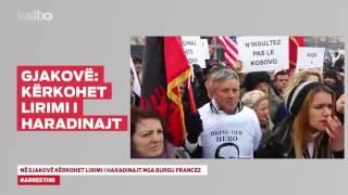 Ne Gjakove Kerkohet Lirimi i Haradinajt nga Burgu Francez