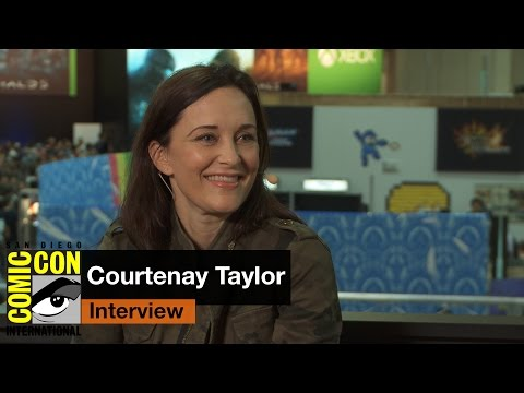 courtenay taylor interview