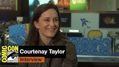 San Diego Comic Con 2015: Fallout 4 voice actress Courtenay Taylor is a blast