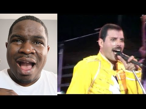 FIRST TIME HEARING - Queen - Under pressure (Live at Wembley) REACTION