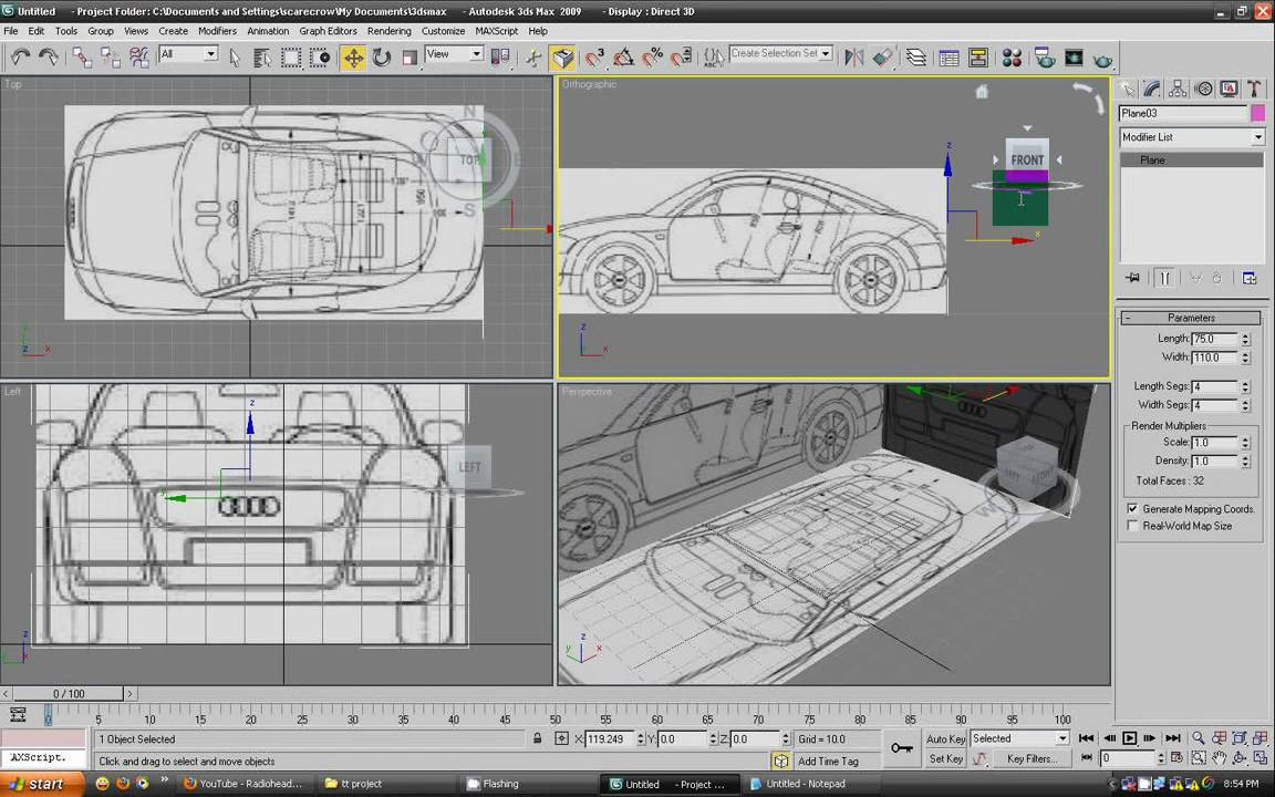 hight resolution of car 3d diagram