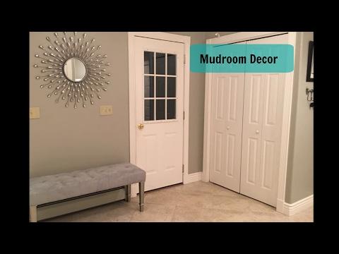Home Improvement | Mudroom Decor | Bench & Mirror
