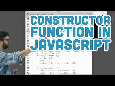 7.4: The Constructor Function in JavaScript - p5.js Tutorial