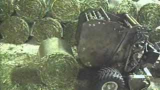 Fend Vario Rundballenpresse 2900 V  Komplettest bis zum Auswurf