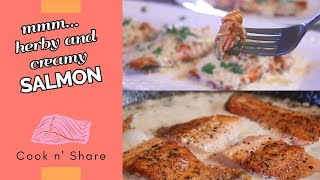 Creamy Herb Salmon in 30 Minutes