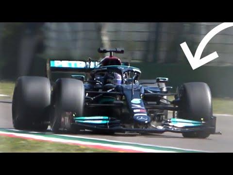 Lewis Hamilton tests NEW 18-inch Pirelli Tyres for 2022 Season! – Mercedes-AMG F1 at Imola Circuit!