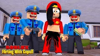ROBLOX - JAIL BREAK - FLIRTING WITH COPS TO GET WHAT I WANT!!!